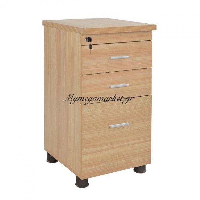 Συρταριέρα Γραφείου Επαγγελματική Οξιά Hm2049.01 40X46X75 | Mymegamarket.gr
