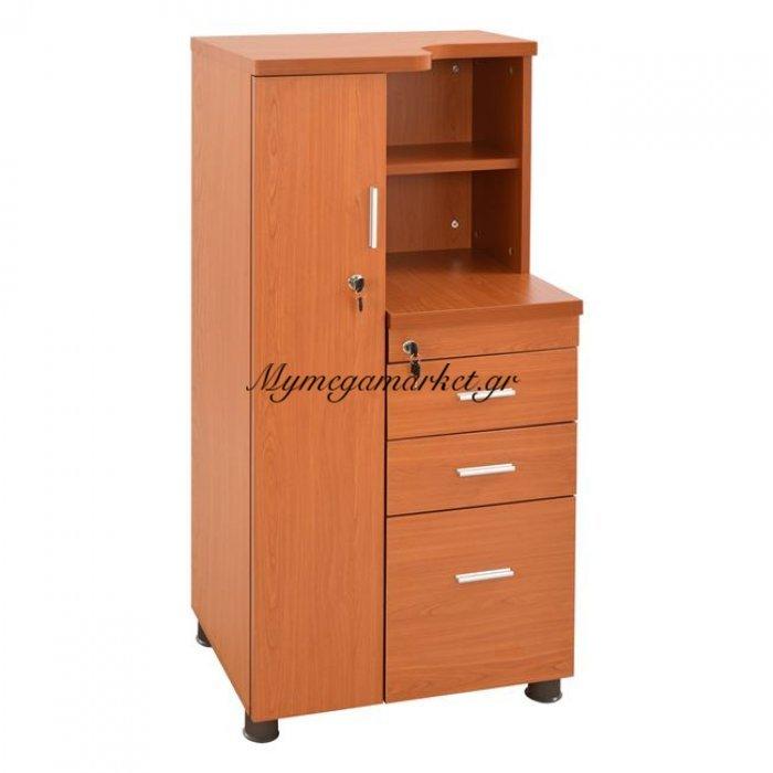 Ντουλάπι Γραφείου Επαγγελματικό Κερασί Hm2052.03L 60X46X120 | Mymegamarket.gr