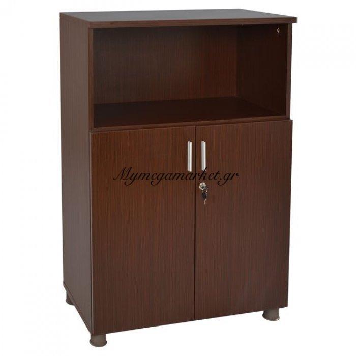 Ντουλάπι Γραφείου Επαγγελματικό Wenge Hm2058.02 80X40X118 | Mymegamarket.gr