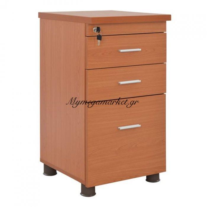 Συρταριέρα Γραφείου Επαγγελματική Κερασί Hm2049.13 40X46X75Υ Εκ. | Mymegamarket.gr