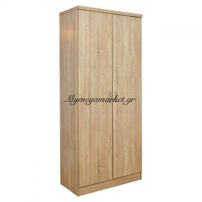 Ντουλάπα 2Φυλλη Sonama Hm368.02 185X80X42.5 | Mymegamarket.gr