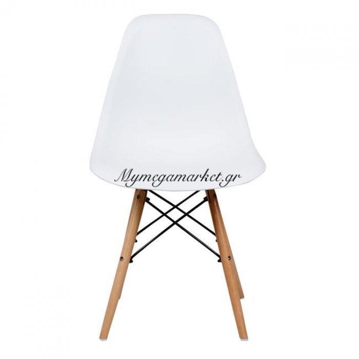Καρέκλα Με Ξύλινα Πόδια Και Κάθισμα Λευκό Pp Twist Hm0126.11 Συσκευασία 4Τμχ. | Mymegamarket.gr