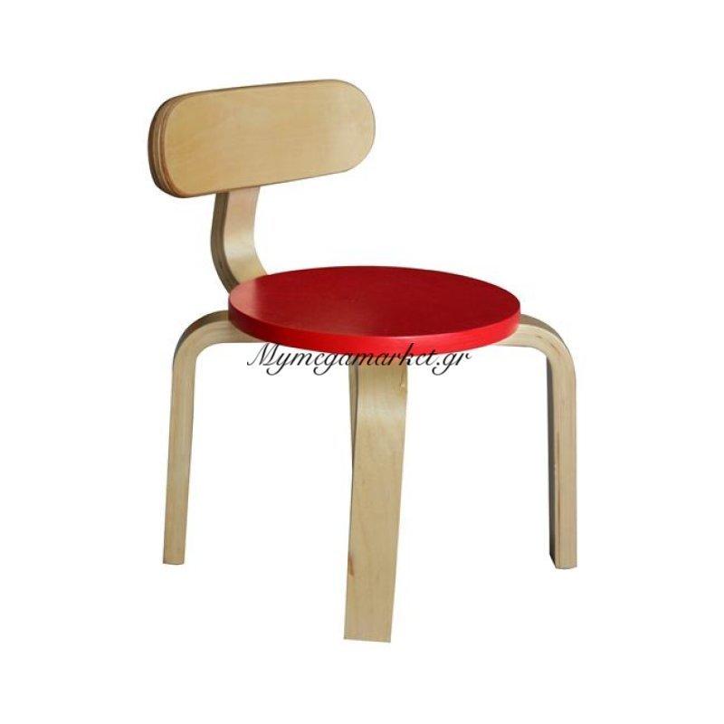 6384af61713 -47% Καρεκλάκι Παιδικό Hm8420.05 Φυσικό Με Κόκκινο Κάθισμα Στην κατηγορία  Καρεκλάκια φαγητού παιδικά | Mymegamarket