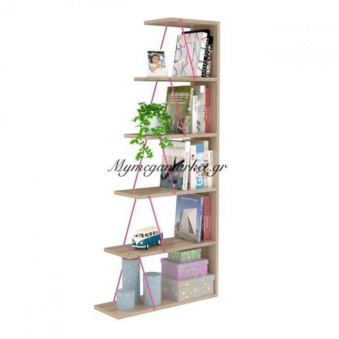 Βιβλιοθήκη Mini Tars Σε Χρώμα Sonama - Ρόζ Hm2241.04 | Mymegamarket.gr