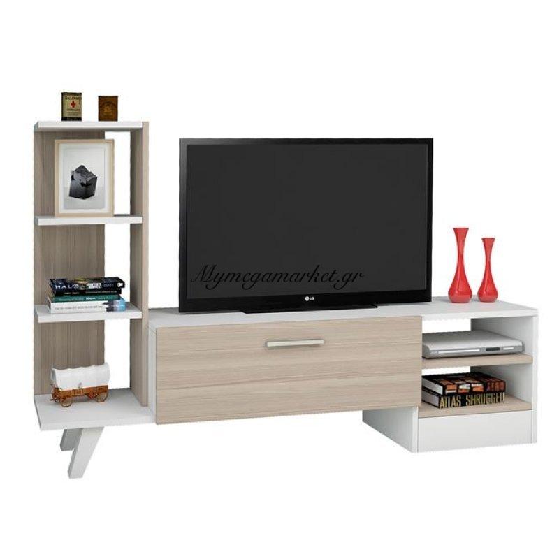 Έπιπλο Τηλεόρασης Adison Hm2250 Λευκό - Sonama