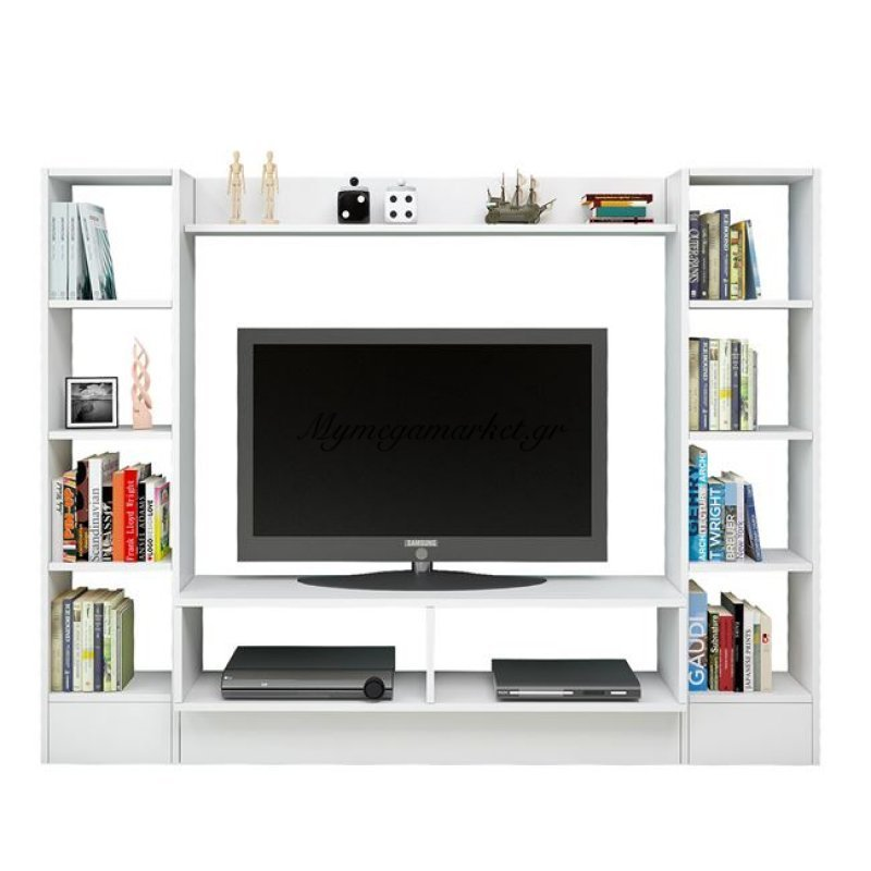 Έπιπλο Τηλεόρασης Jazmin Hm2255 Λευκό