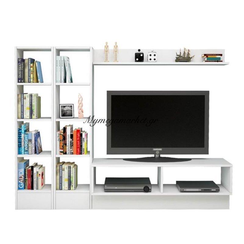 Έπιπλο Τηλεόρασης Isobela Hm2256 Λευκό