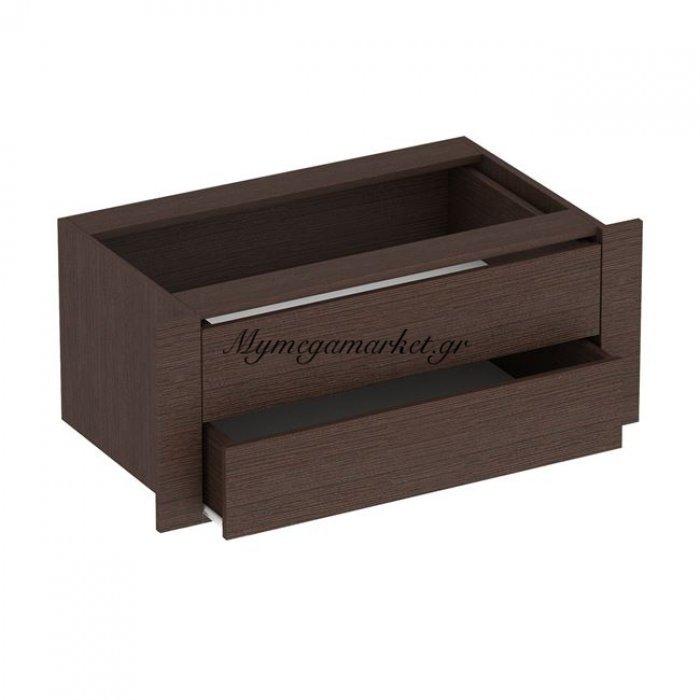Συρταριέρα Εσωτερική Συρόμενης Ντουλάπας Amelia Hm2310.02 Wenge 70Χ20Εκ. | Mymegamarket.gr