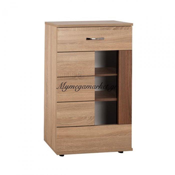 Βιτρίνα-Ντουλάπι Tv Amalfi Sonama-Καρυδί Hm2321.01 | Mymegamarket.gr