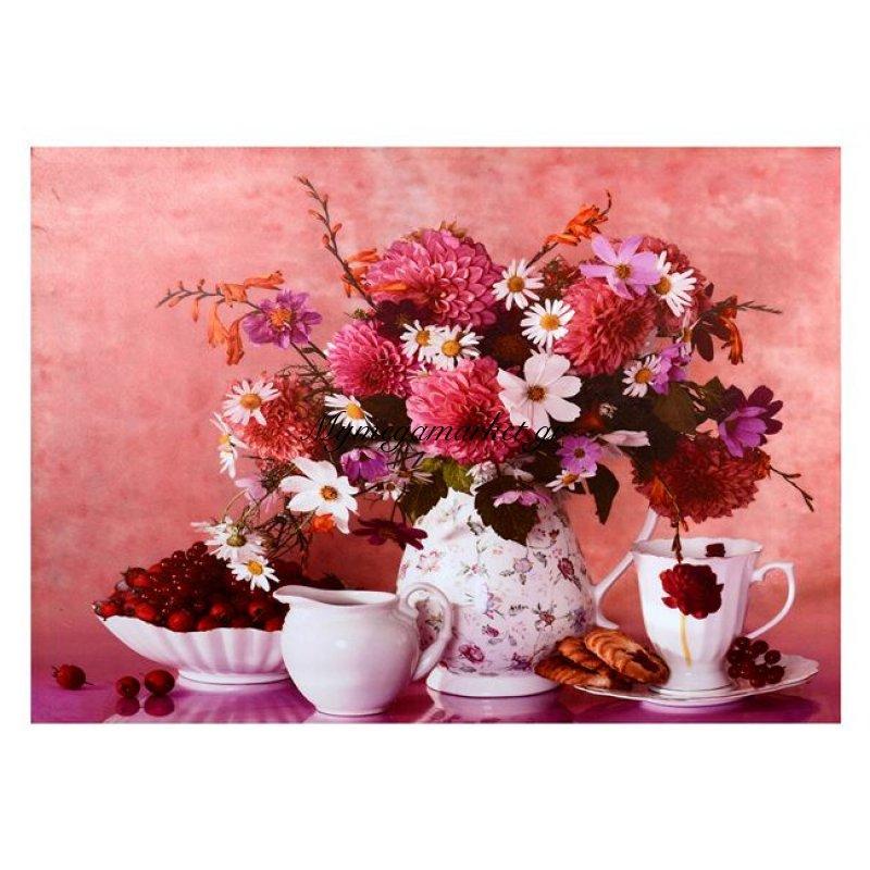 Πινακασ Καμβασ Hm7071 Flowers 50X70X2.5