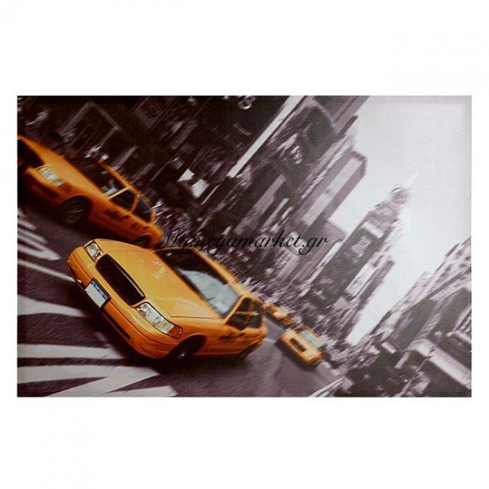 Πίνακας Καμβάς Hm7072 New York Street 90X60X2.5 | Mymegamarket.gr