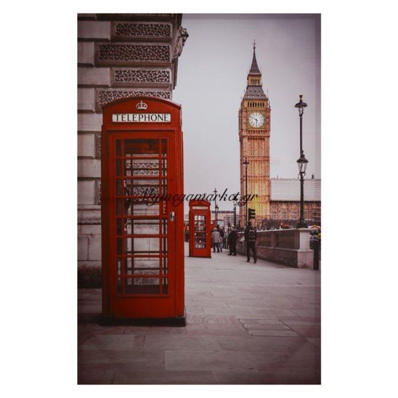 Πίνακας Καμβάς Hm7074 London 90X60X2.5