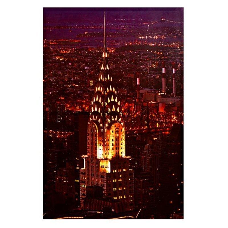 Πίνακας Καμβάς Hm7075 City Lights 90X60X2.5