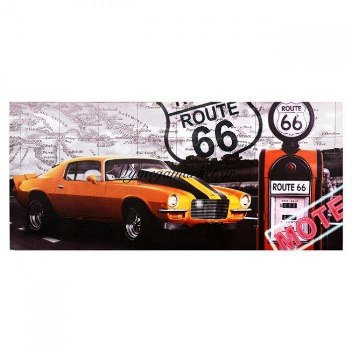Πίνακας Καμβάς Hm7078 Rute 66 90X40 | Mymegamarket.gr