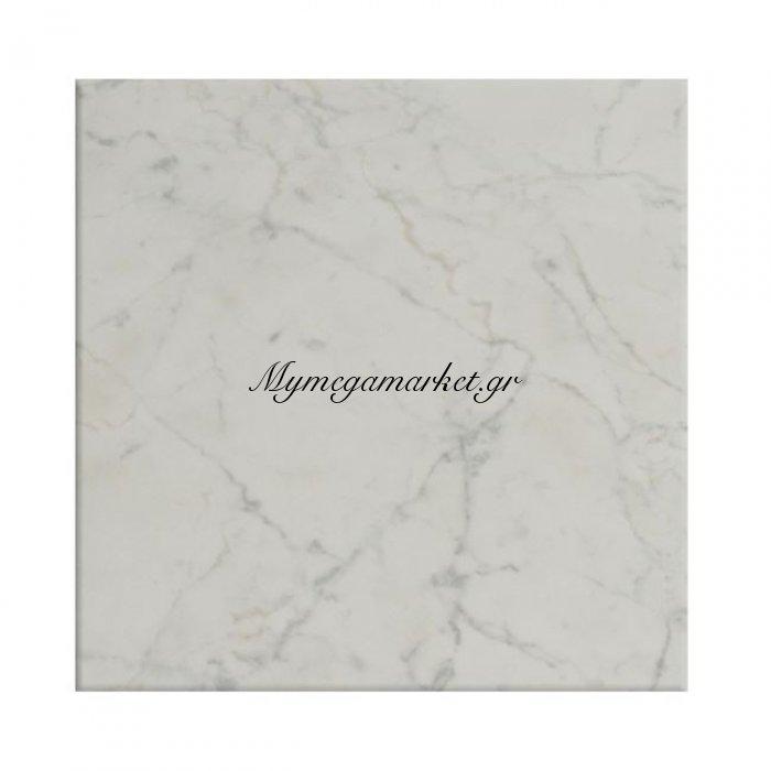 Επιφάνεια Τραπεζιού 411 Werzalit 70X70 Σε Μάρμαρο Λευκό Χρώμα Hm5230.08 | Mymegamarket.gr