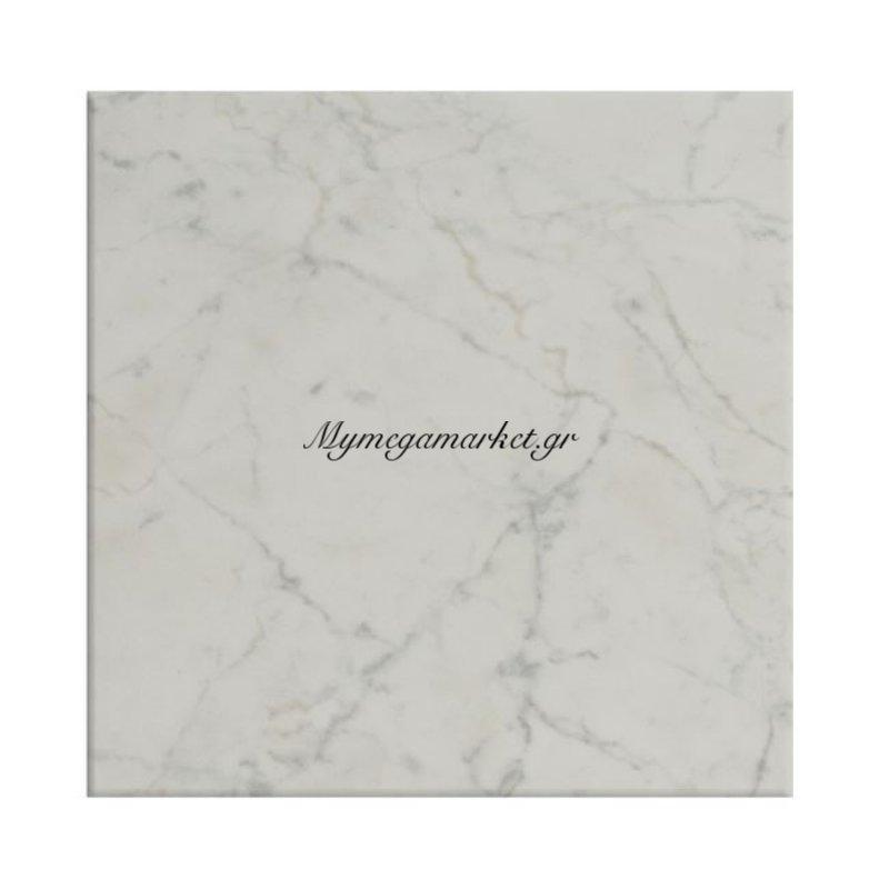 Επιφάνεια Τραπεζιού 411 Werzalit 70X70 Σε Μάρμαρο Λευκό Χρώμα Hm5230.08
