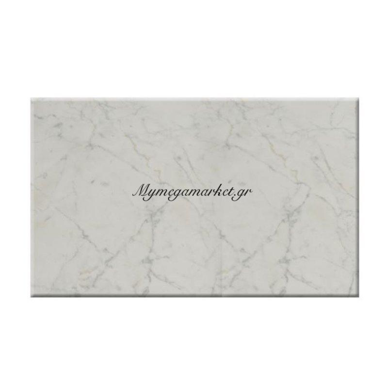 Επιφάνεια Τραπεζιού 411 Werzalit 120Χ70 Σε Μάρμαρο Λευκό Χρώμα Hm5232.08
