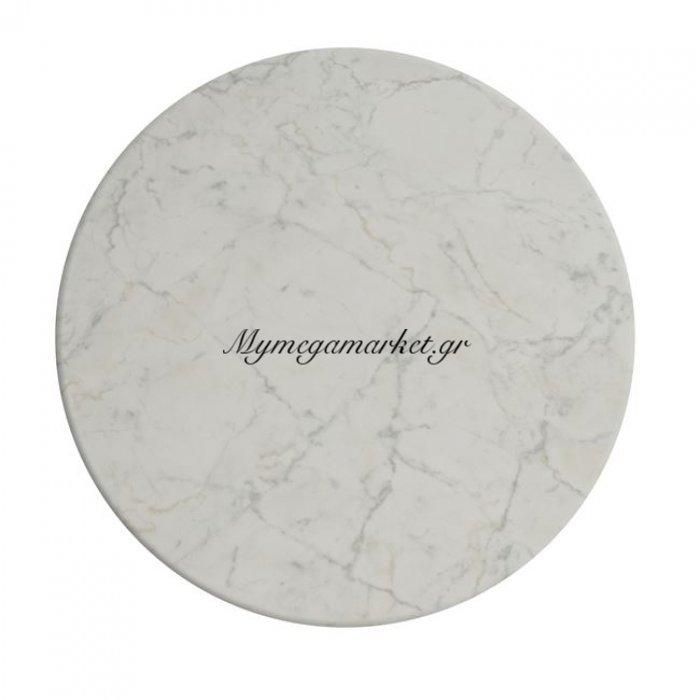 Επιφάνεια Τραπεζιού 411 Werzalit Φ70 Σε Μάρμαρο Λευκό Χρώμα Hm5228.08 | Mymegamarket.gr