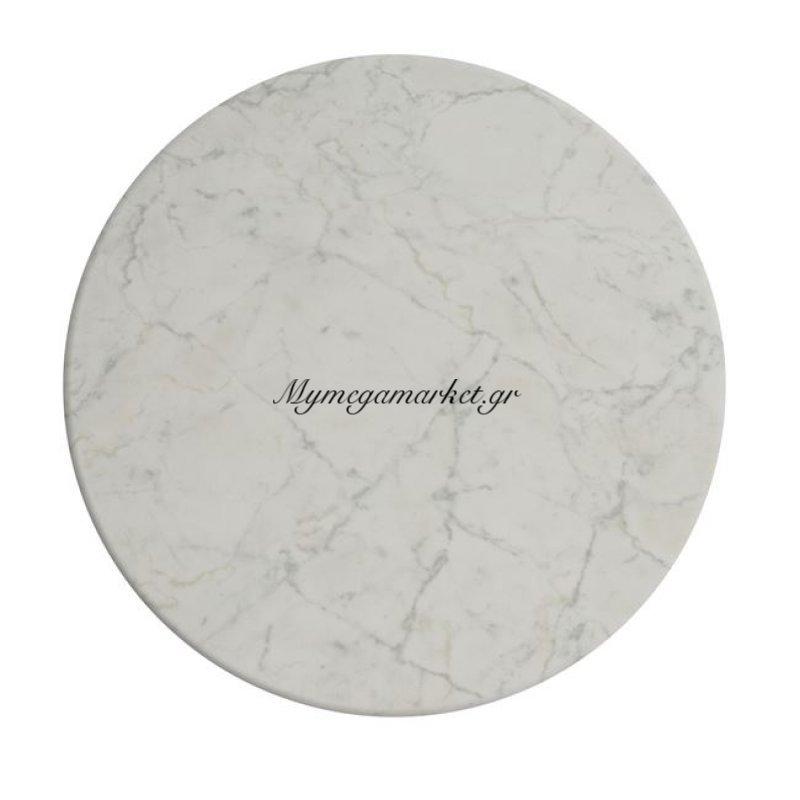 Επιφάνεια Τραπεζιού 411 Werzalit Φ70 Σε Μάρμαρο Λευκό Χρώμα Hm5228.08