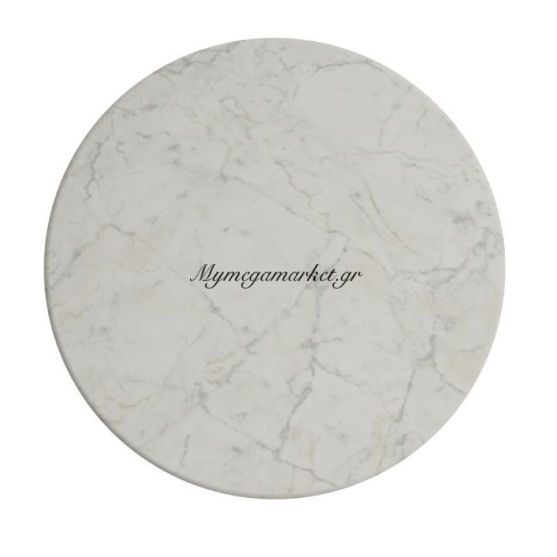 Επιφάνεια Τραπεζιού 411 Werzalit Φ60 Σε Μάρμαρο Λευκό Χρώμα Hm5227.08