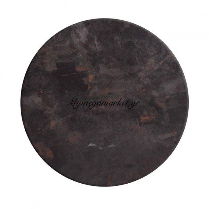 Επιφάνεια Τραπεζιού 630 Werzalit Φ60  Σε Metalic Oxid Χρώμα Hm5227.05 | Mymegamarket.gr