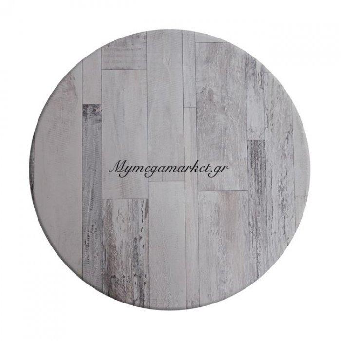 Επιφάνεια Τραπεζιού 537 Werzalit Φ70 Σε White Block Χρώμα Hm5228.07 | Mymegamarket.gr