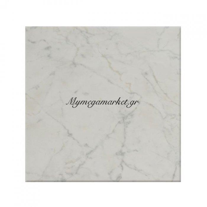 Επιφάνεια Τραπεζιού 411 Werzalit 60Χ60 Σε Μάρμαρο Λευκό Χρώμα Hm5229.08 | Mymegamarket.gr