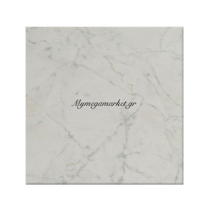 Επιφάνεια Τραπεζιού 411 Werzalit 60Χ60 Σε Μάρμαρο Λευκό Χρώμα Hm5229.08