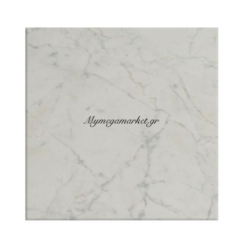 Επιφάνεια Τραπεζιού 411 Werzalit 80Χ80 Σε Μάρμαρο Λευκό Χρώμα Hm5231.08