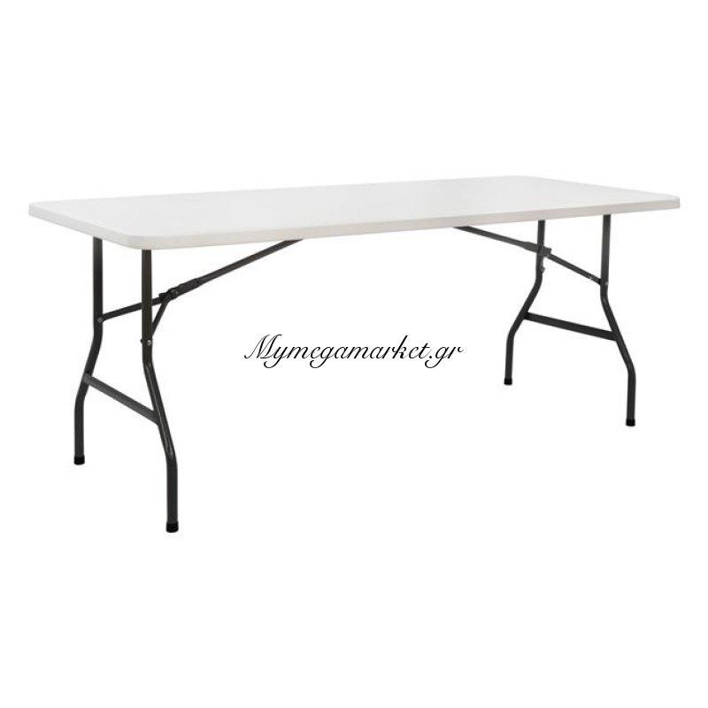 Τραπέζι Catering-Συνεδρίου Hm5168 180Χ74Χ74 Πτυσσόμενο