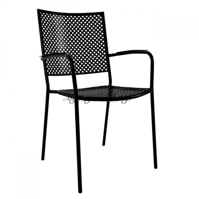 Πολυθρόνα Μεταλλική Easy Μαύρη Hm5103.10 | Mymegamarket.gr
