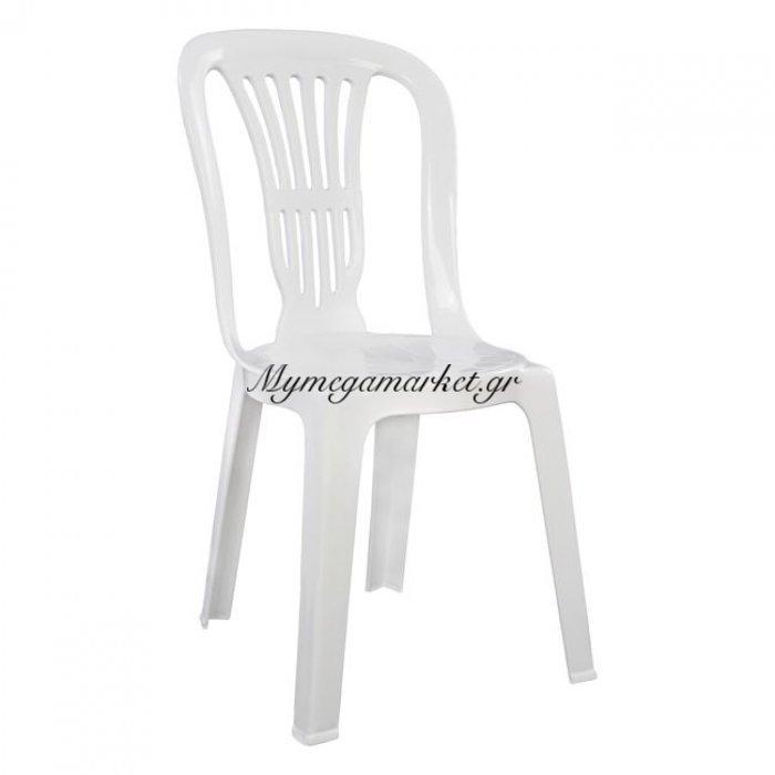 Καρέκλα Πλαστική Βιέννης Λευκή 303002010 | Mymegamarket.gr