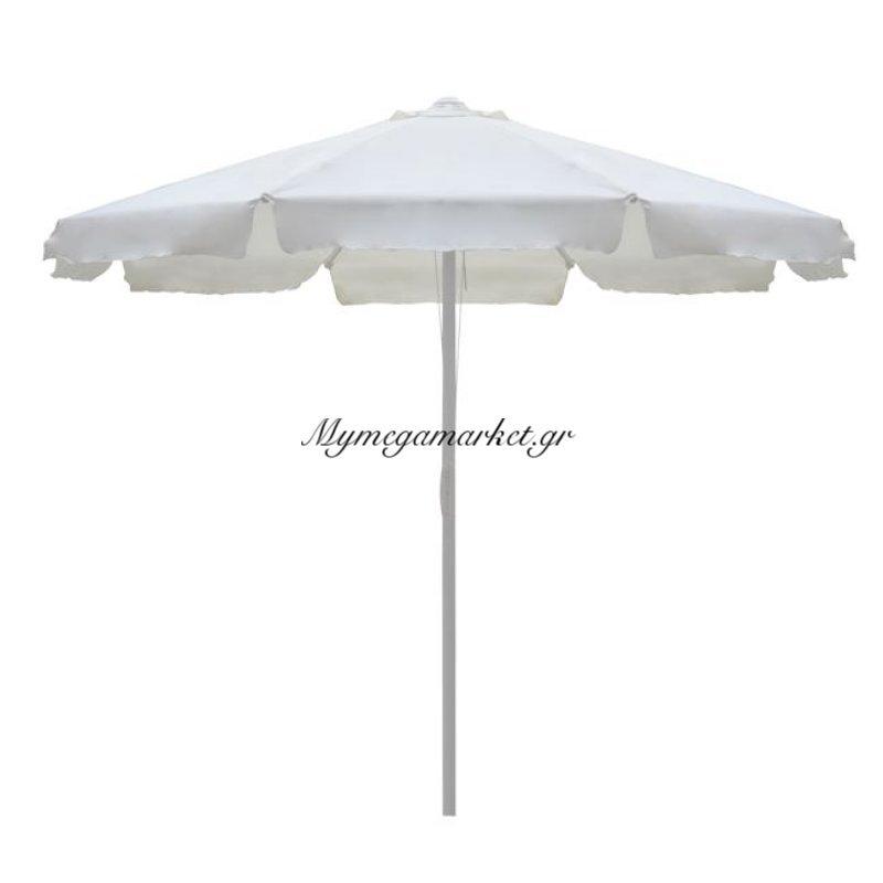 Ομπρέλα Επαγγελματική 3Μ Εκρού Μονοκόματος Ιστός Hm6006