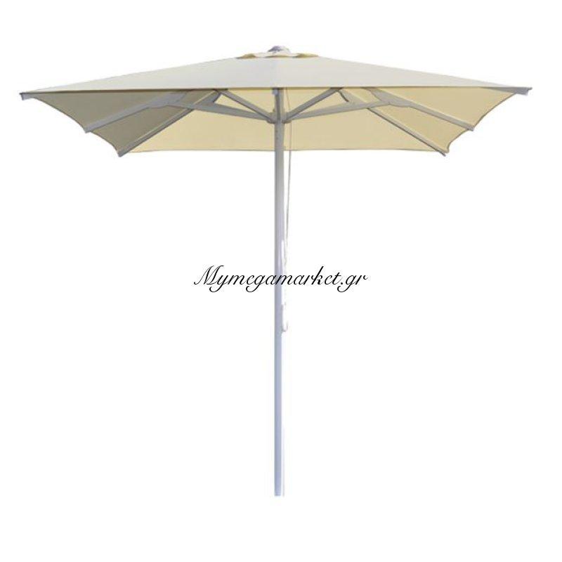 Ομπρέλα Επαγγ.2.20X2.20 Αλουμινίου Εκρού Πανί 8Ακτινες Hm6013.01