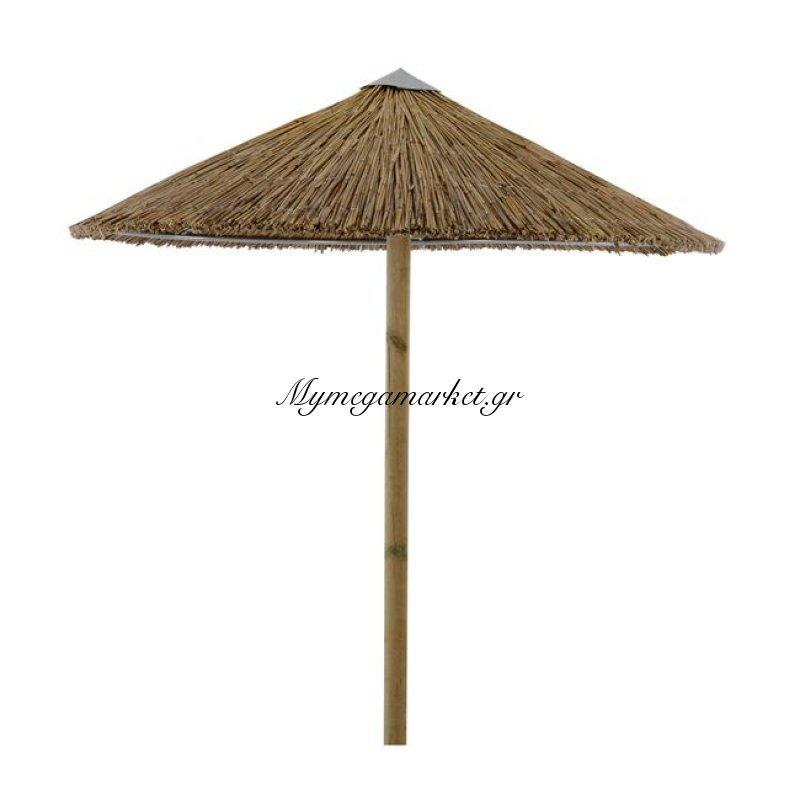 Ομπρέλα Ψάθινη Φ210 Με Αντηρίδες