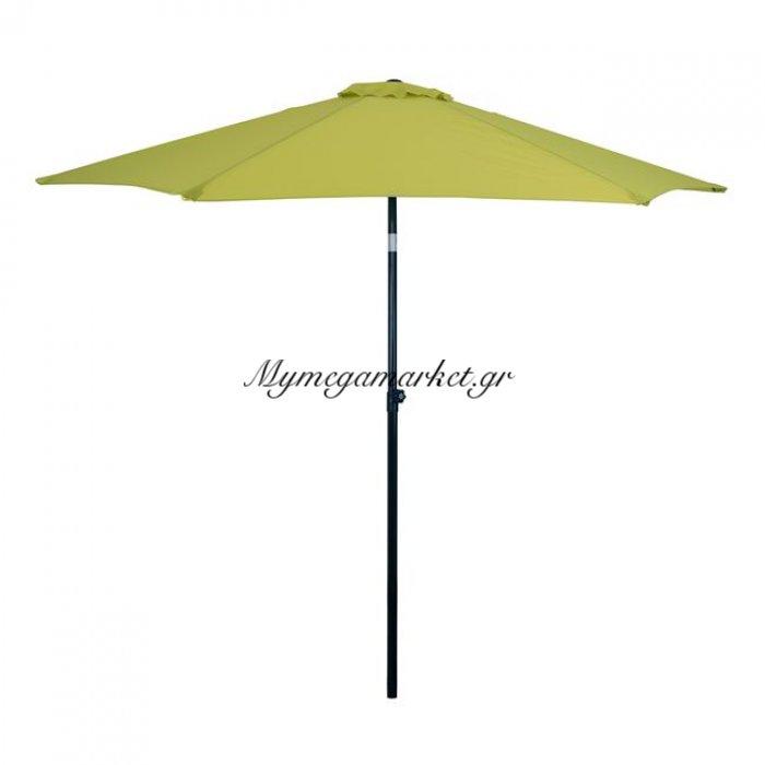 Ομπρέλα 2.70Μ Light Green Πανί Μεταλλική 6Ακτίνες Hm6010.16 | Mymegamarket.gr