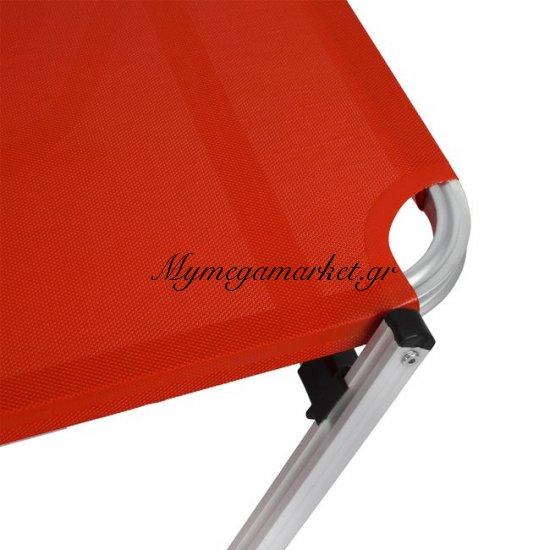 Ξαπλώστρα Επαγγελματική Αλουμινίου Hm5071.04 Κόκκινη Στην κατηγορία Ξαπλώστρες - Καρέκλες παραλίας | Mymegamarket.gr