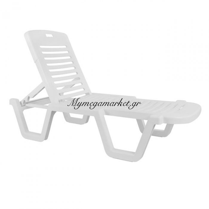 Ξαπλώστρα Παραλίας Πλαστική Ανακλινόμενη Relax | Mymegamarket.gr