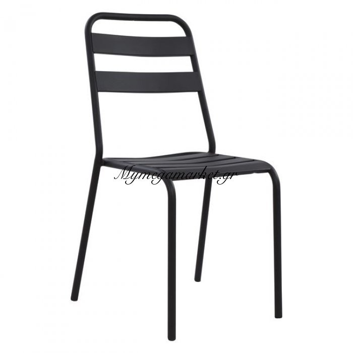 Καρέκλα Μεταλλική Μαύρη Jason Hm5177.01 | Mymegamarket.gr