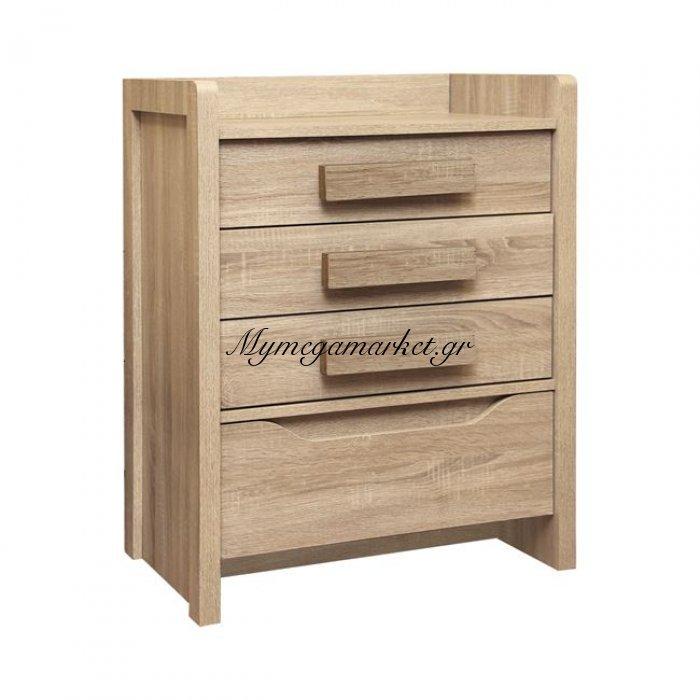 Συρταριέρα playroom sonama με 4 συρτάρια 63Χ40Χ80Εκ Hm10217.04 | Mymegamarket.gr