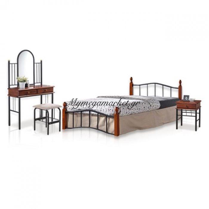 Σετ Φοιτητικό 3 Τμχ Κρεβάτι 150Χ200-Κομοδίνο - Τουαλέτα | Mymegamarket.gr