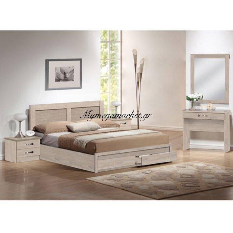 Σετ Κρεβατοκαμαρα 5Τμχ Dream Sonama Hm11107.02 Στην κατηγορία Κρεβάτια ξύλινα - Μεταλλικά | Mymegamarket.gr