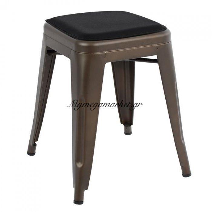 Σκαμπω Melita Rusty Χρώμα Και Κάθισμα Hm8064.04 | Mymegamarket.gr