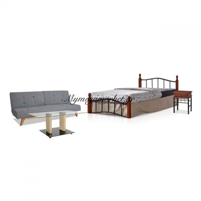 Σετ Φοιτητικό 4 Τμχ Κρεβάτι + Τραπέζι + Κομοδίνο + Καναπές Hm10151 | Mymegamarket.gr