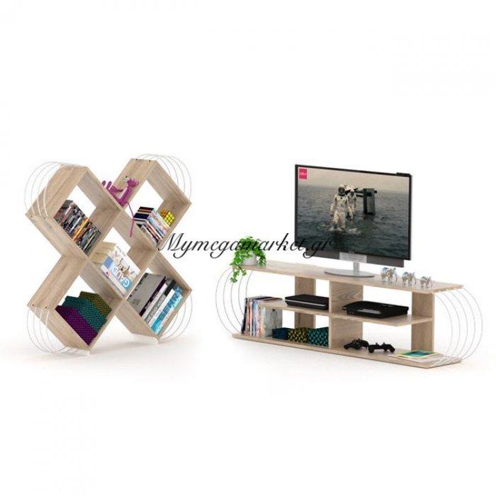 Σετ 2Τμχ Case Βιβλιοθήκη & Έπιπλο Tv Hm10292 | Mymegamarket.gr