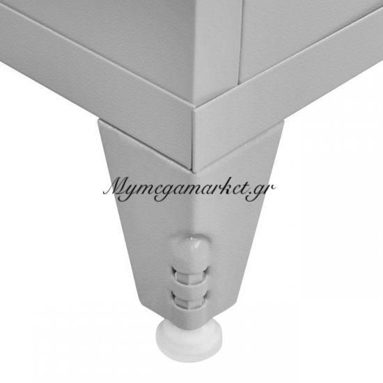Ντουλάπα Μεταλλική 101Χ90Χ45Εκ. Με Δύο Ράφια Δίφυλλη Hm10323 Στην κατηγορία Ντουλάπες μεταλλικές | Mymegamarket.gr