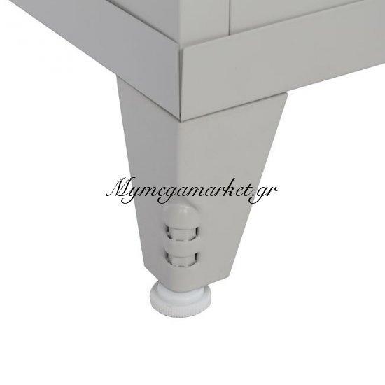 Ντουλάπα Μεταλλική 190,5Χ50Χ45Εκ.Με 4Ράφια Μονη & Πόδια Hm10325 Στην κατηγορία Ντουλάπες μεταλλικές | Mymegamarket.gr