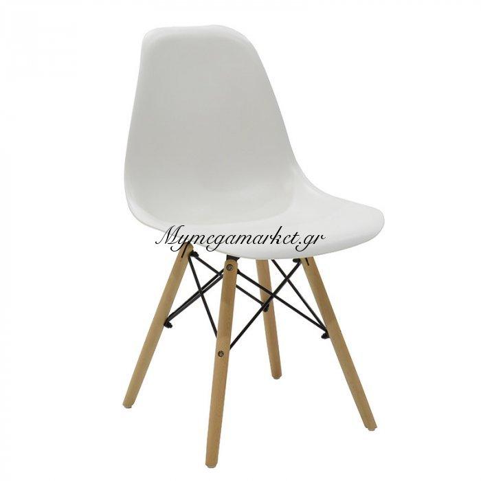 Καρέκλα Julita Pp Χρώμα Λευκό Επαγγελματική Κατασκευή | Mymegamarket.gr