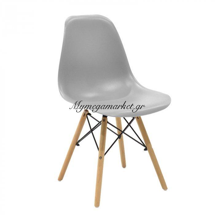 Καρέκλα Julita Pp Χρώμα Γκρι Επαγγελματική Κατασκευή | Mymegamarket.gr