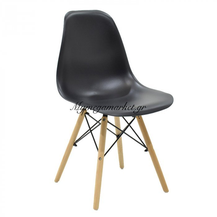 Καρέκλα Julita Pp Χρώμα Μαύρο Επαγγελματική Κατασκευή | Mymegamarket.gr